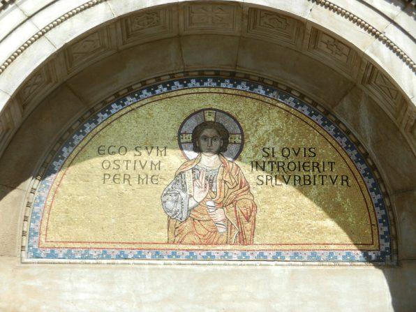Mosaic, Euphrasian Basilica, Porec, Croatia