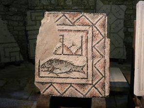 Roman Mosaic, Euphrasian Basilica, Porec, Croatia
