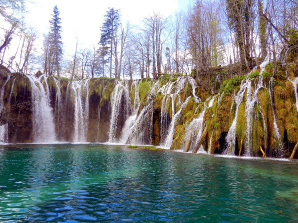 Waterfall, Upper Pools, Plitvici Lakes, Croatia