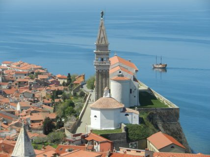 Church of St. George, Piran, Slovenia