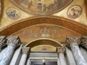 Basilica of St. Mark Gold Ceiling, Venice, Italy