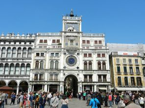 Saint Mark's Clocktower, Venice, Italy