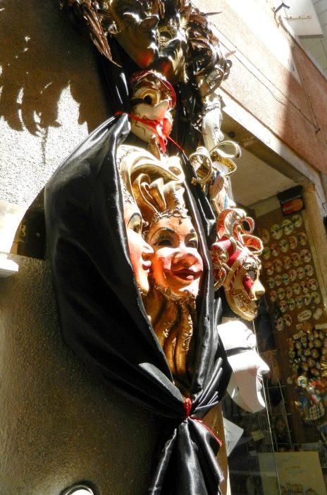 Venetian Masks in Venice, Italy