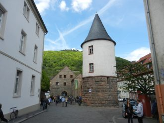 Marstall Tower, Heidelberg, Germany
