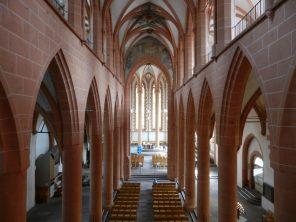 Inside Heiliggeistkirche, Heidelberg, Germany