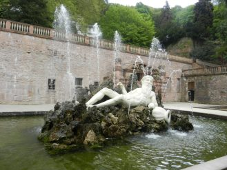 Vater Rhein Hortus Palatinus, Heidelberg Castle, Germany