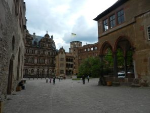 Courtyard of Heidelberg Castle, Germany