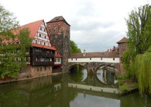 Henkersteg, Nuremberg, Germany