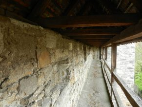 Old Town Wall Rothenburg, Germany
