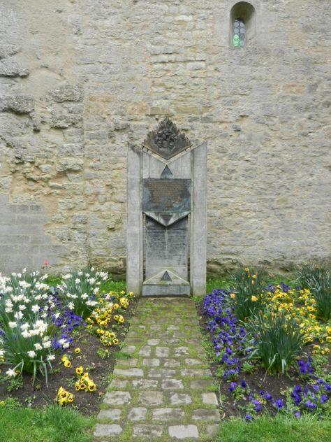 Pogram Stone Memorial, Rothenburg, Germany