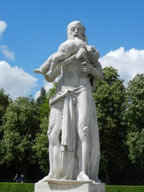 Kronos Statue, Nymphenburg Palace, Munich, Germany