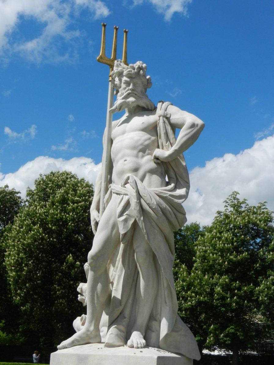 Poseidon, Nymphenburg Palace, Munich, Germany