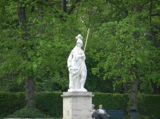 Classical Greek Statue, Nymphenburg, Munich, Germany