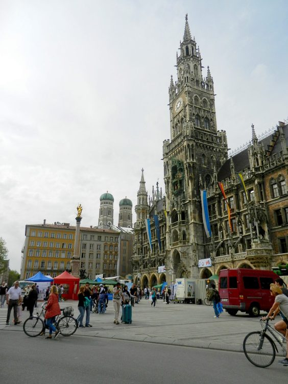 New Town Hall in Marienplatz