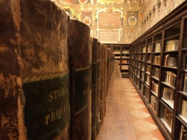 Archiginnasio library, Bologna, Italy