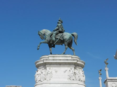 Statue of Victor Emmanuel II, Rome, Italy