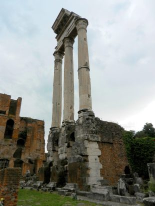 Temple of Castor and Pollux, Roman Forum, Italy