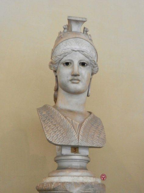 Athena sculpture, Chiaramonti Museum, Vatican, Italy