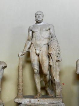 Heracles Sculpture, Chiaramonti Museum, Vatican, Italy