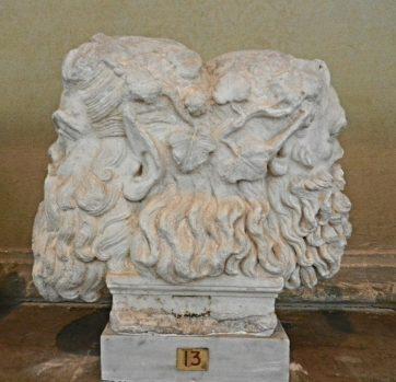 Janus sculpture, Chiaramonti Museum, Vatican, Italy