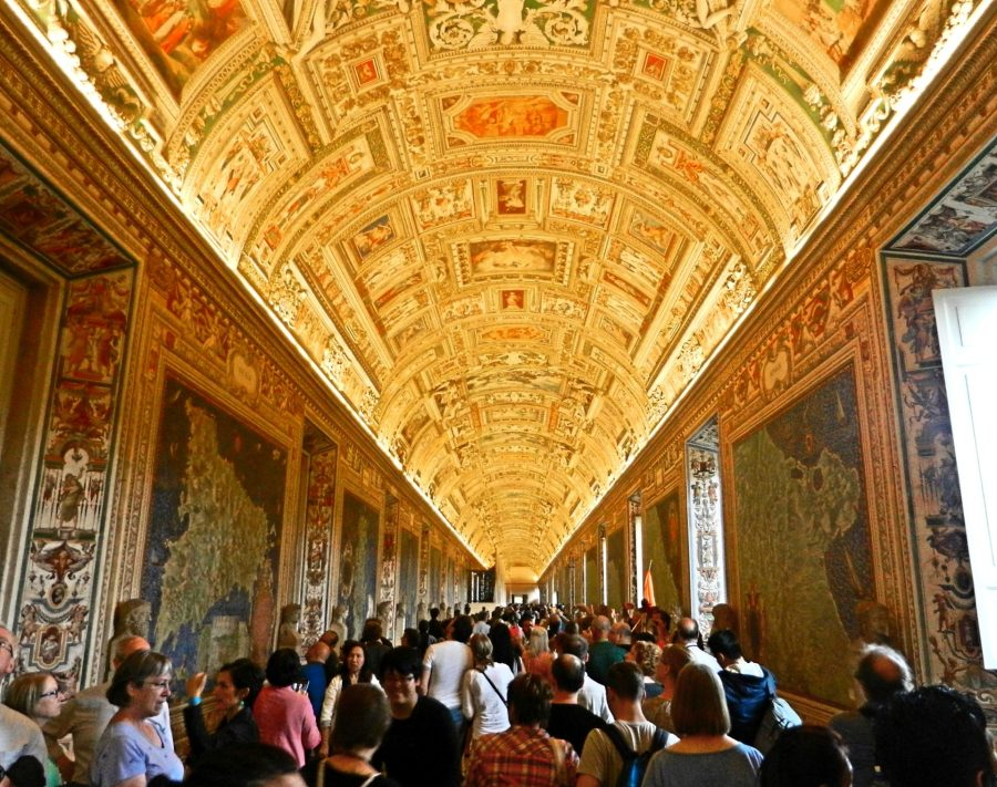 Map Gallery, Vatican, Italy