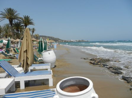 Stalida's Beach, Crete, Greece