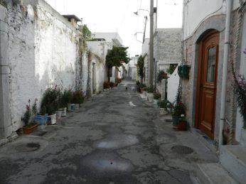 Streets of Mohos, Crete, Greece