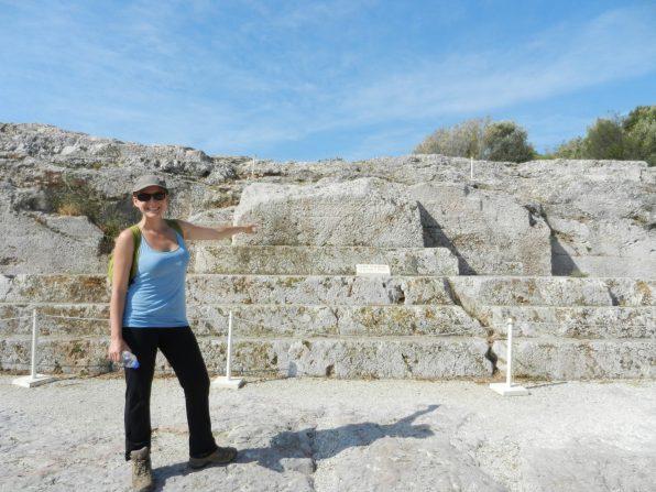 Ashleigh, Pnyx, Athens, Greece