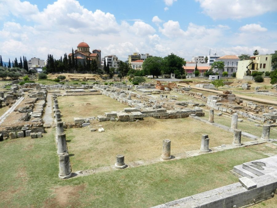 Athen's Ancient Agora, Greece