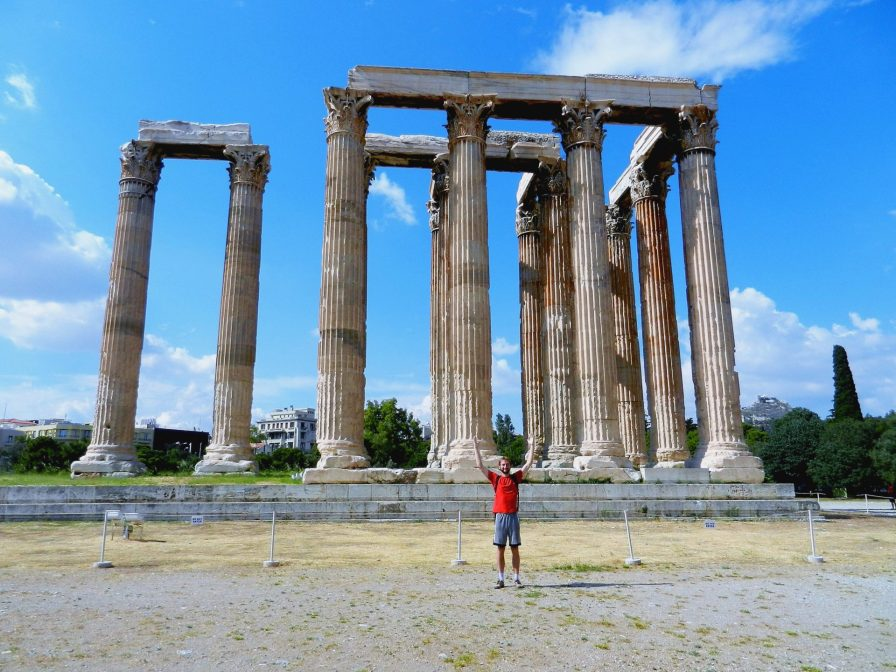 Nathanael, Temple of Zeus the Olympian, Athens, Greece