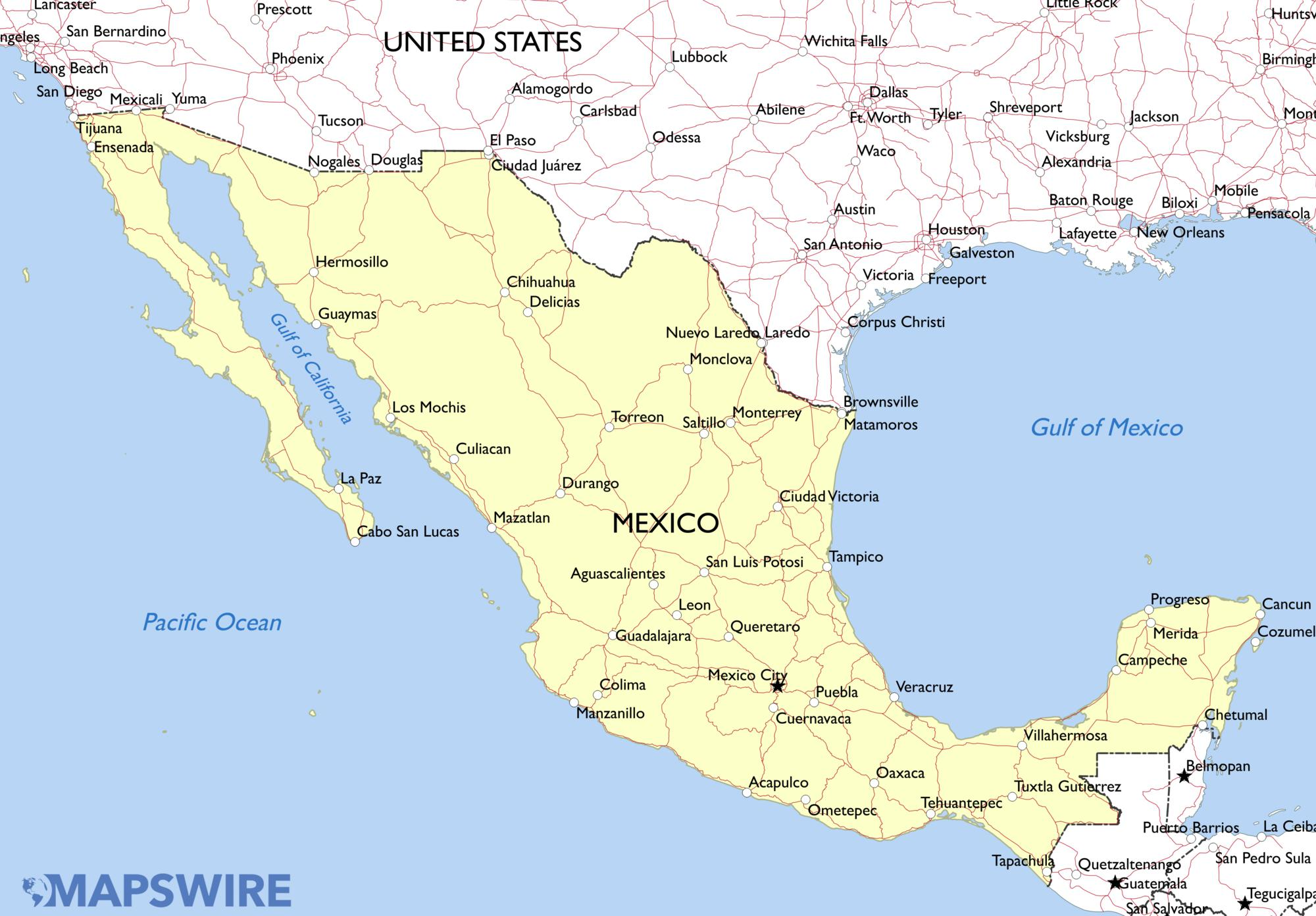 Mexico The Indefinite Journey
