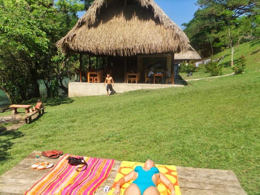 El Retiro in Lanquin, Guatemala