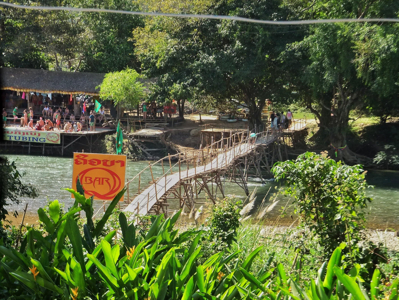 Nam Song River Tubing