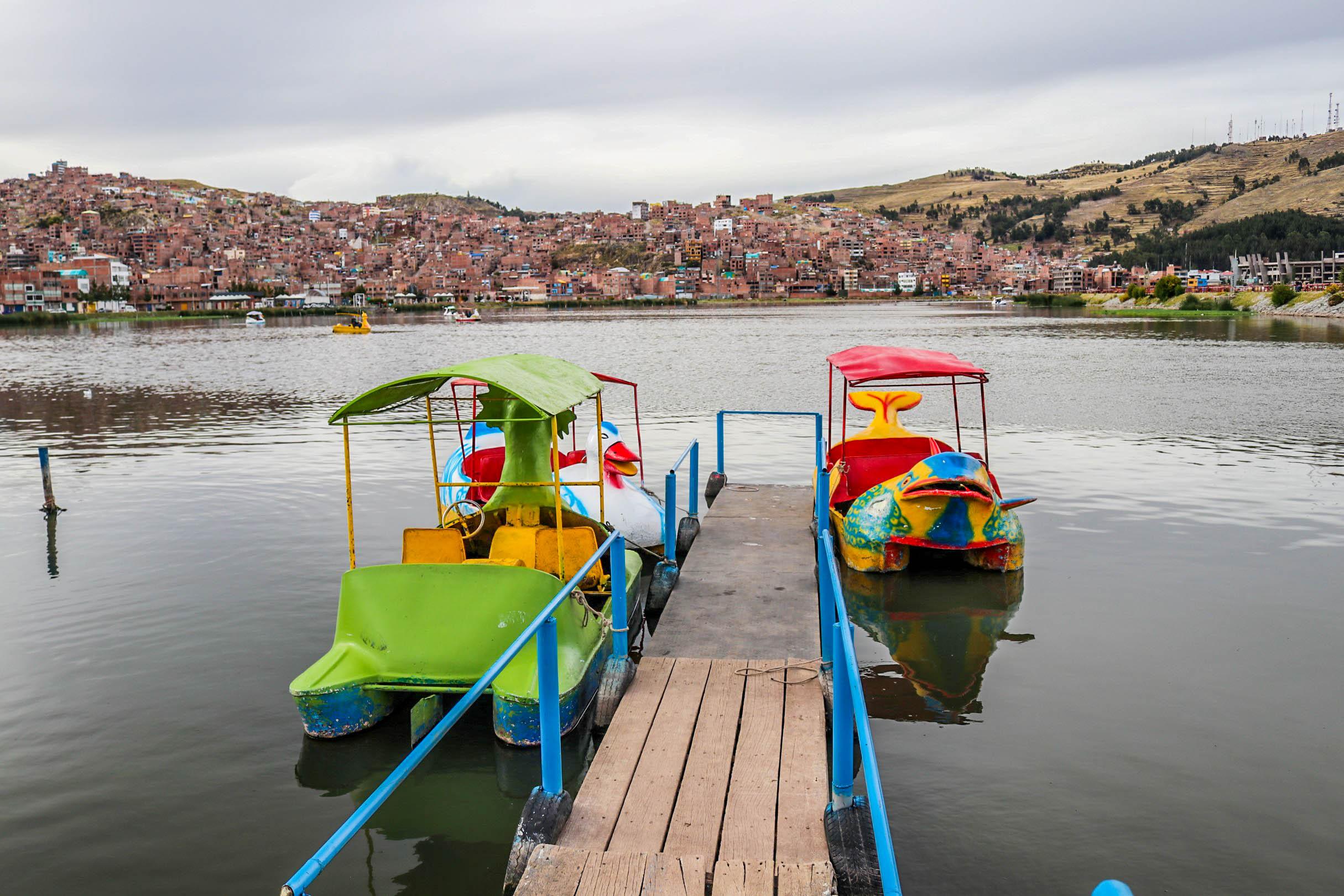 Lake Titicaca And The Floating Islands of Puno, Peru