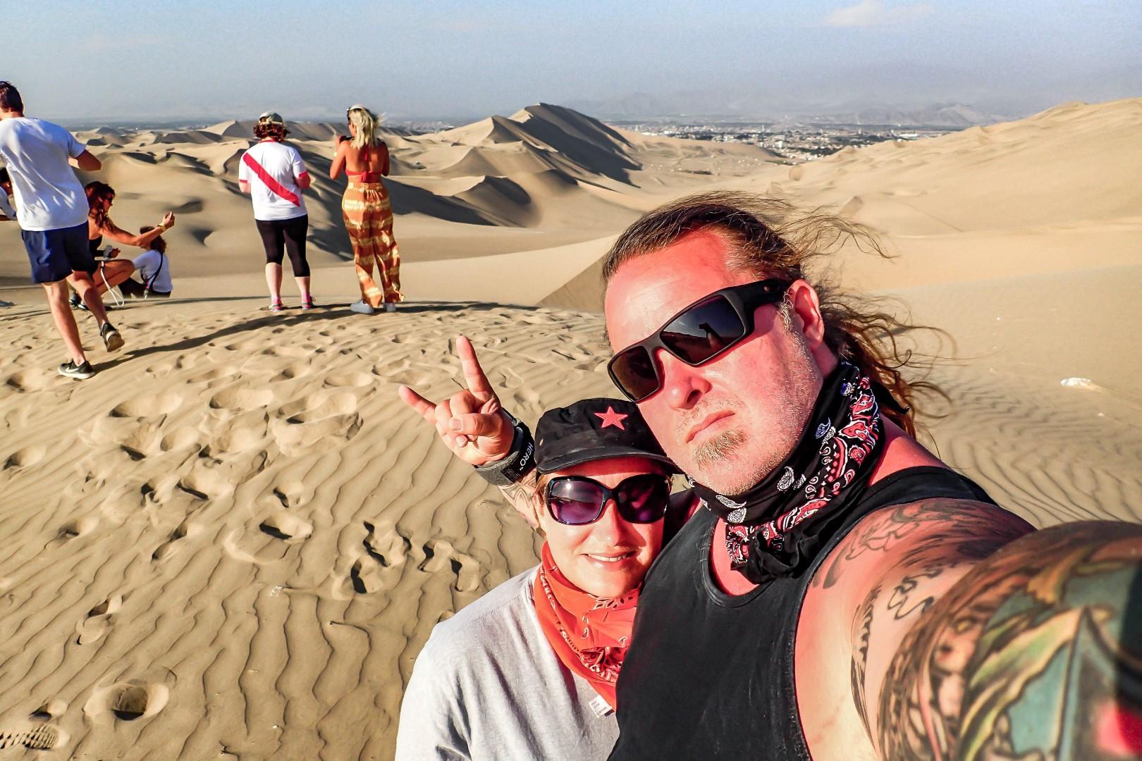 Sandboarding, Dune Buggies and Pisco