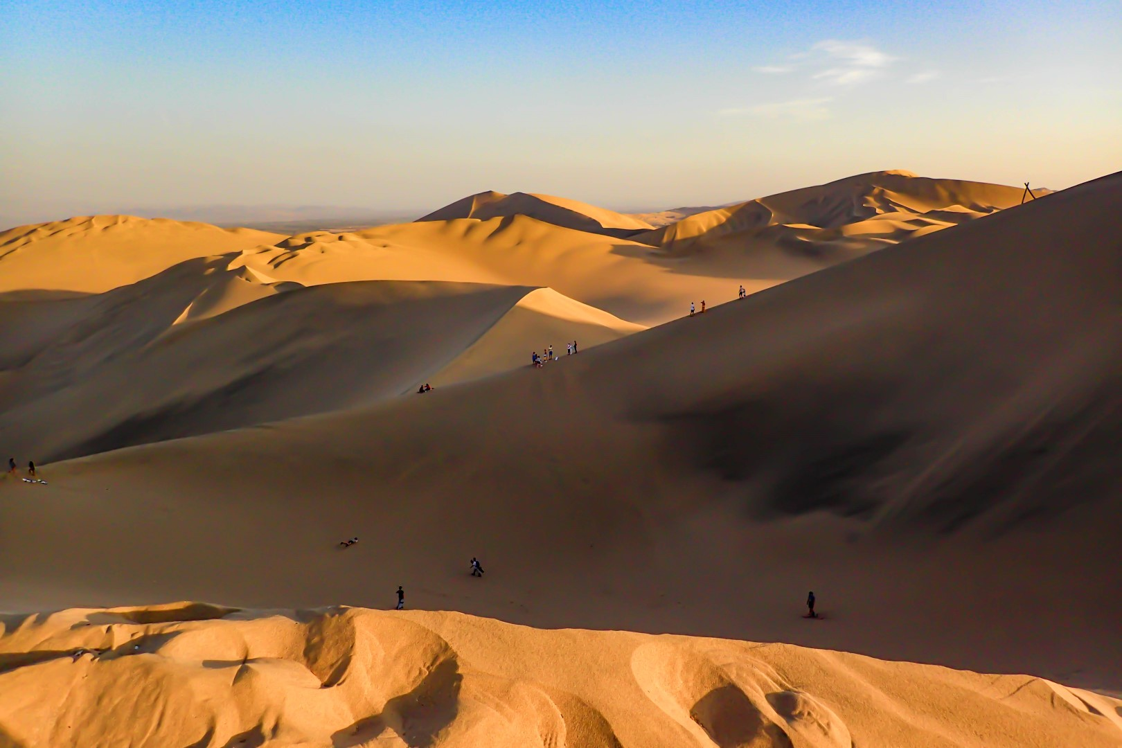 Sandboarding, Dune Buggies and Pisco