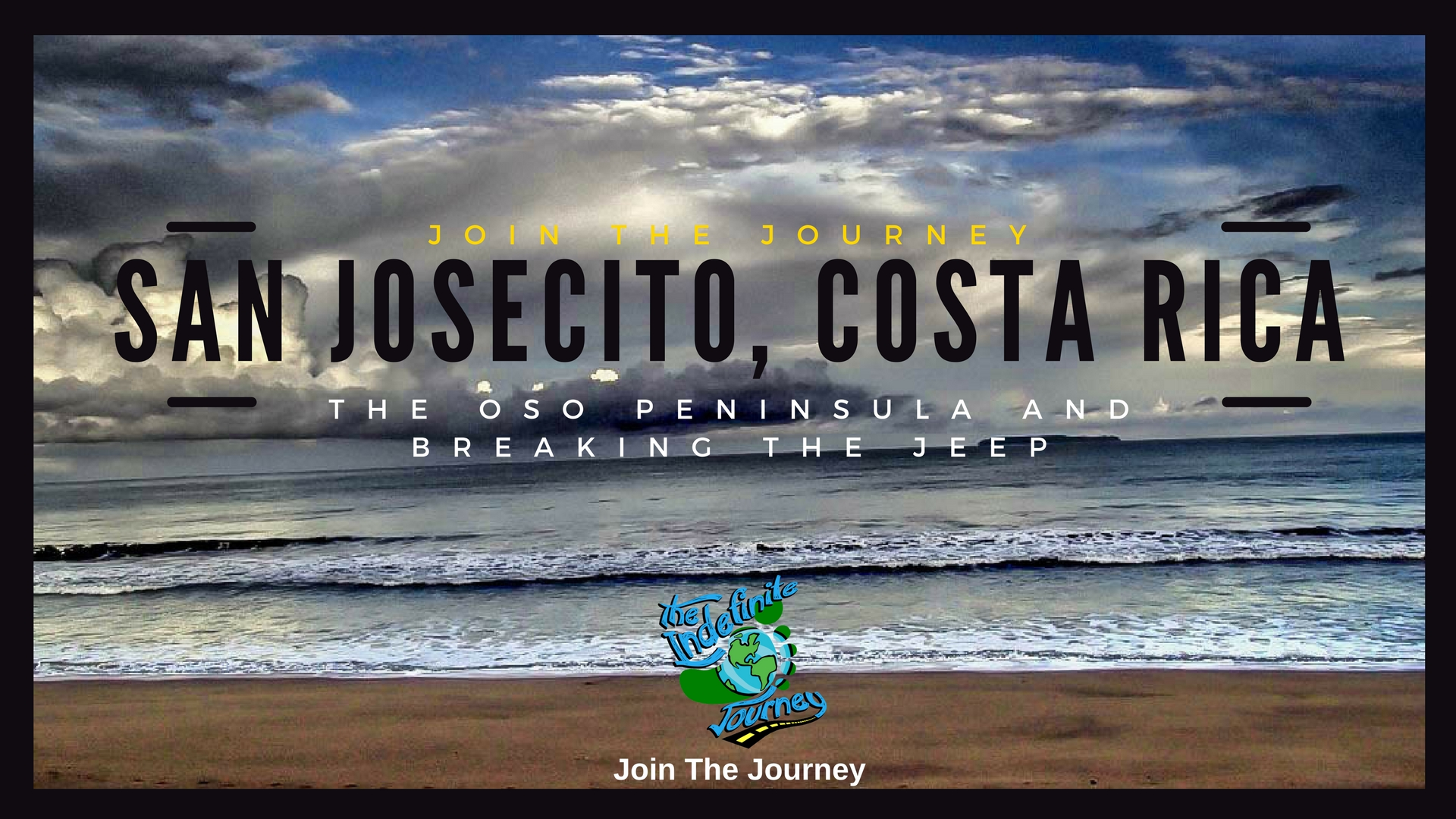 San Josecito, Costa Rica In The Oso Peninsula And Breaking The Jeep