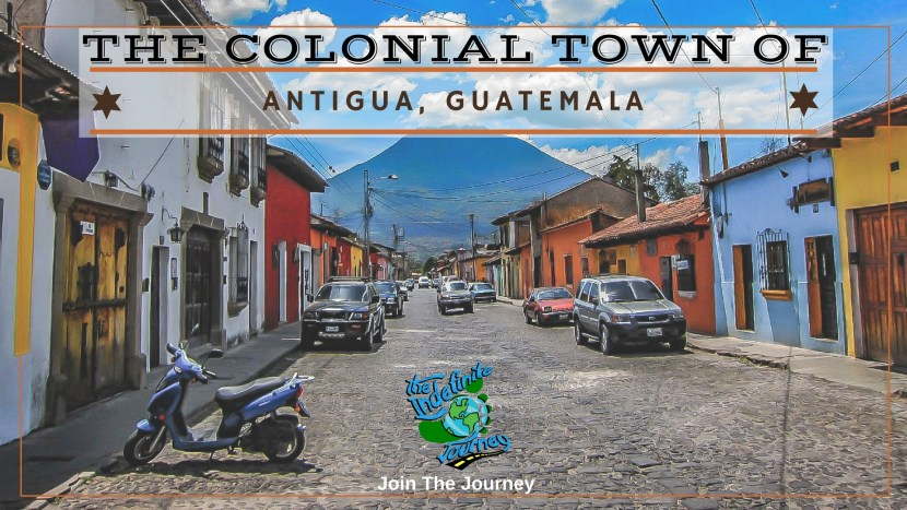 The Colonial Town Of Antigua, Guatemala