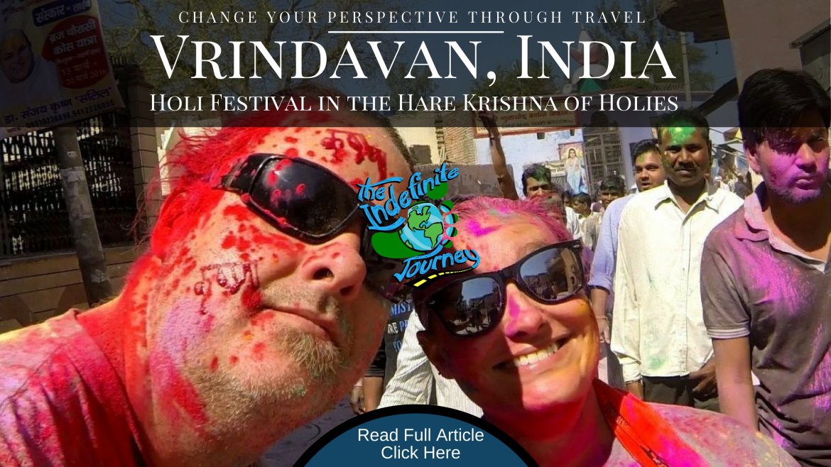 Vrindavan, India – Holi Festival in the Hare Krishna of Holies (1)