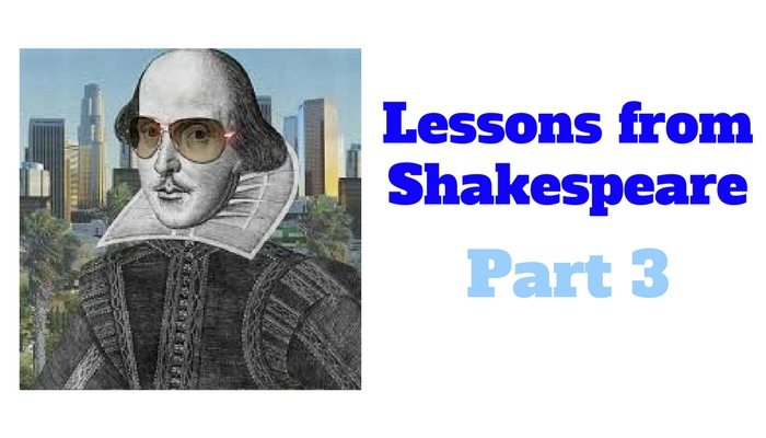 Lessons from Shakespeare on financial advisors
