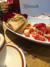 eating vegetarian in Florence, Italy