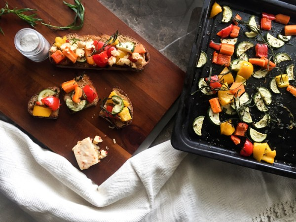 roasted vegetables vegan vegetarian how to
