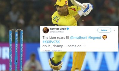 Bollywood And Cricket Fraternity Goes Mad As MS Dhoni Plays His Finest IPL Inning