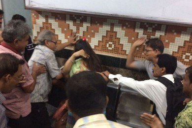 Couple Allegedly Thrashed By Fellow Passengers For Hugging In Kolkata Metro
