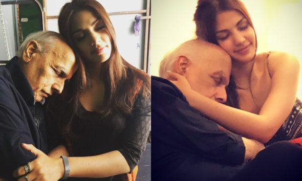 Rhea Chakraborty Gets Trolled For Sharing Cozy Pictures With Mahesh Bhatt