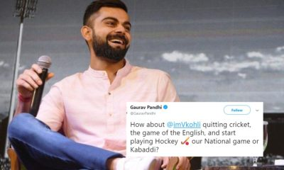 Fans Slams Virat Kohli For His 'Leave India If You Don't Like Indian Batsmen' Comment