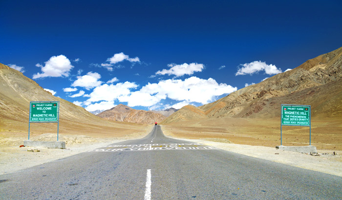 Magnetic Hill – Everything you want to know about Magnetic Hill leh-ladakh, India
