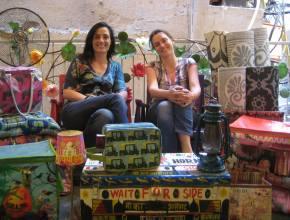 Iris et Emeline, cofondatrices de Purple Jungle