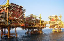 ONGC Oil Platform © Nandu Chitnis Pune, India
