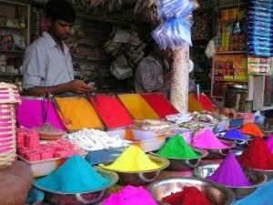 marché Inde chemins des indes